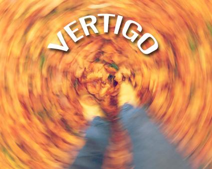 vertigo swirling