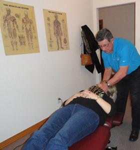 carter-spinuzzi chiropractic adjustment