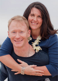 Alliston chiropractor, Dr. Kent with his wife, Victoria