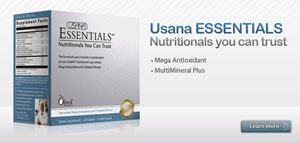Alliston Chiropractor recommends Usana Essentials
