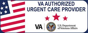 VA Authorized Urgent Care Provider Web Badge 300x112