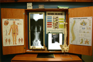 Our xray machine here at Laskow Chiropractic Clinic