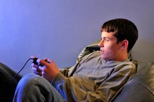 Gaming & texting.