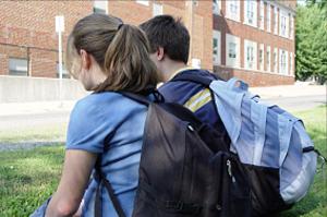 Schoolbags.