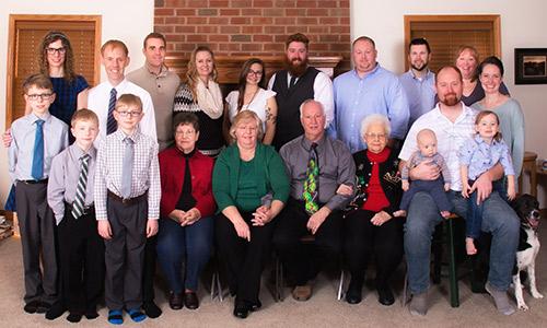 Dr. Scott family photo