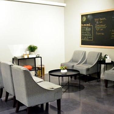 Health & Wellness Center Edina lobby