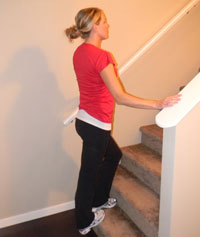 Calf Stretch - Standing (Soleus)
