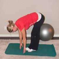 Hamstring Stretch - Standing