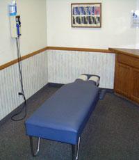 Anaheim Chiropractor : Exam Room