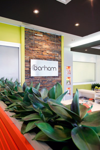 Barham Chiropractic Family Wellness Lobby