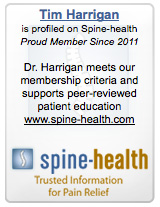 Dr Tim Harrigan Spinal Health