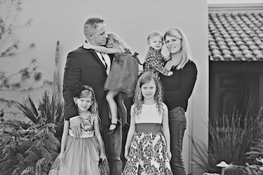 Dr. Tim Harrigan and Family