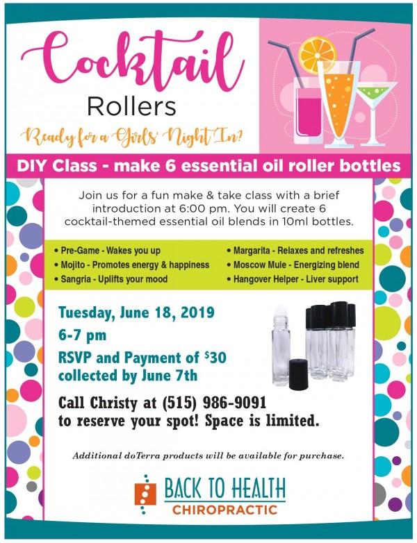 June Oil class flyer