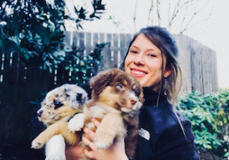Dr. Karina and dogs