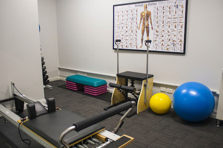Wembley Clinic- pilates room 1