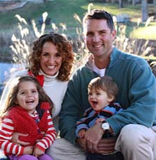 Dr. Chad Jacobs and family