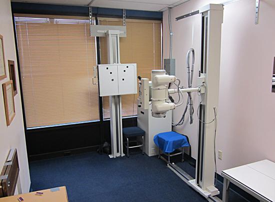 X-ray area