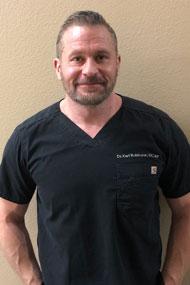 Chiropractor, Dr. Karl Robinson