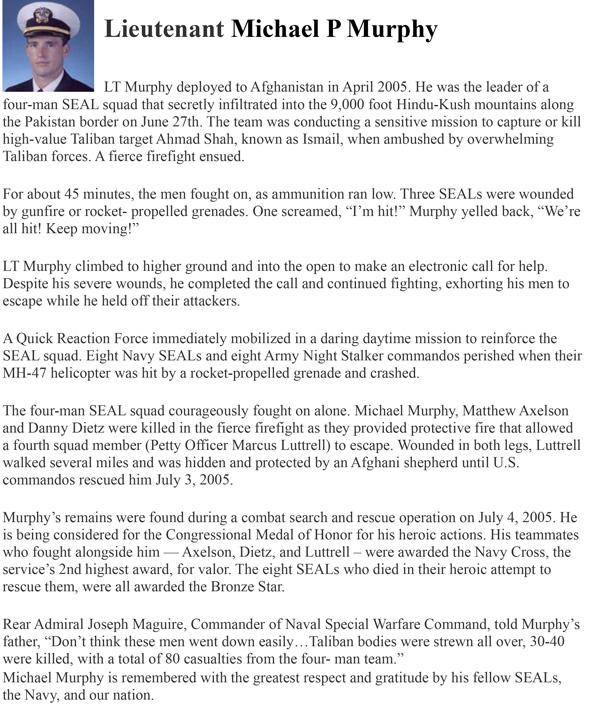 LT Michael Murphy