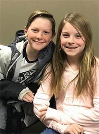 Mackenzie and Mathew W. photo