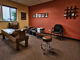Our adjustment room where you will receive care.