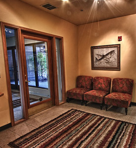 You can expect quality care in a comfortable atmosphere.