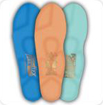 Place these comfortable, supportive spinal pelvic stabilizers orthotics in your shoes