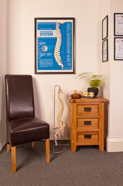 Shrewsbury Family Chiropractic reception area