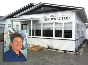Greg Miles, Wanganui Chiropractor