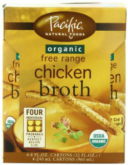 9 Cups Free Range Organic Chicken Broth
