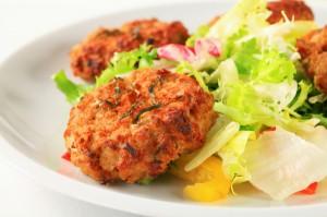 Vegetable patties