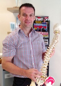 Dr Trevor Horan of Cymru Chiropractic Clinic
