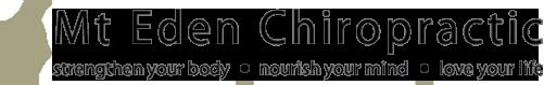 Mt Eden Chiropractic logo - Home
