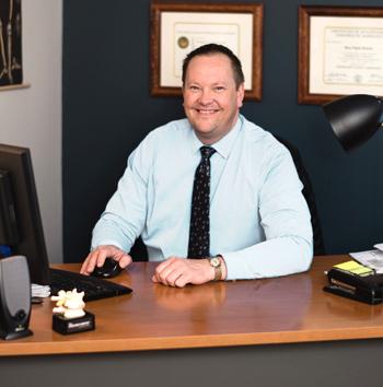 Portrait of Dr Bruce Pearson