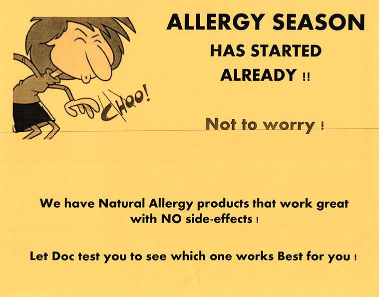 allergy-season-flyer
