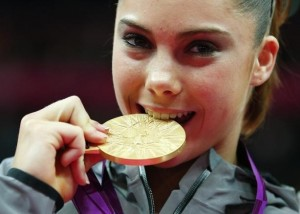 Gold medalist, McKayla Maroney