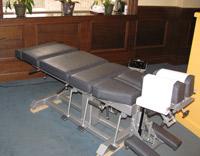 Chiropractic Adjustments at Herron Family Chiropractic.