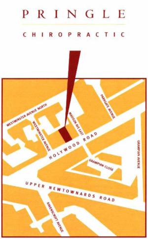 Belfast Chiropractor Map