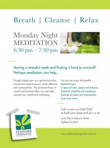 Stafford Meditation