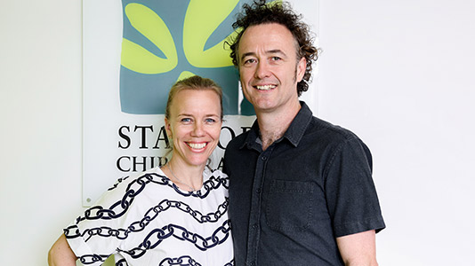 Dr. Al and Meg at Stafford Chiropractic and Wellbeing Centre