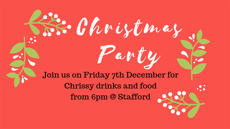 Christmas party details