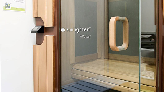 Stafford Chiropractic and Wellbeing Centre sauna