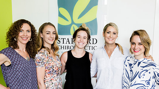 Stafford Chiropractic and Wellbeing Centre team
