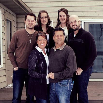 Dr. Burtis and family