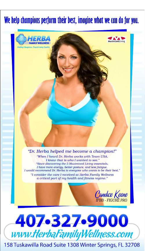 Dr. Herba helped me become a champion!