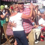 Chantele & Husband dancing