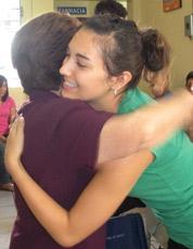 Dr. Katie participated in outreach missions in El Salvador.