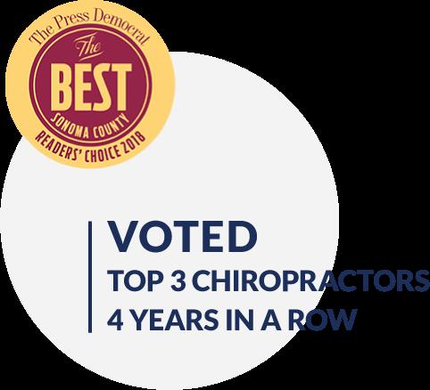 Top 3 Chiropractors Award