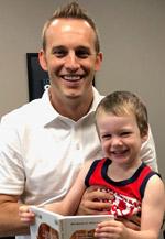 Dr. Travis and Alyssa's son
