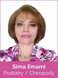 Sima Emami, Podiatrist & Chiropodist